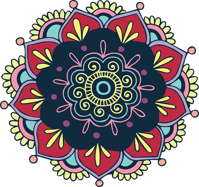 Colorful, Flower, Indian, Floral, Vintage, Bohemian