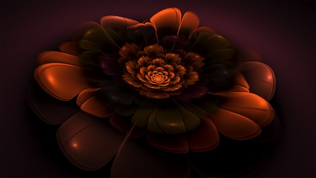 Flower, Fractal, Floral, Blossom, Bloom, Fractal Art