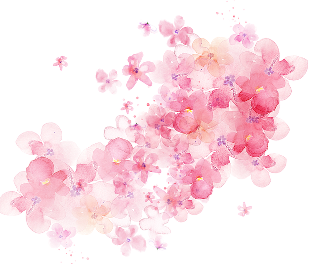 Watercolor, Floral, Nature