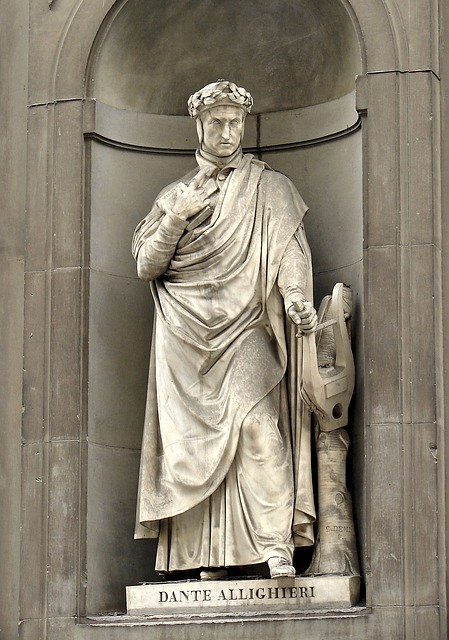 Dante Allighieri, Florence, Artwork