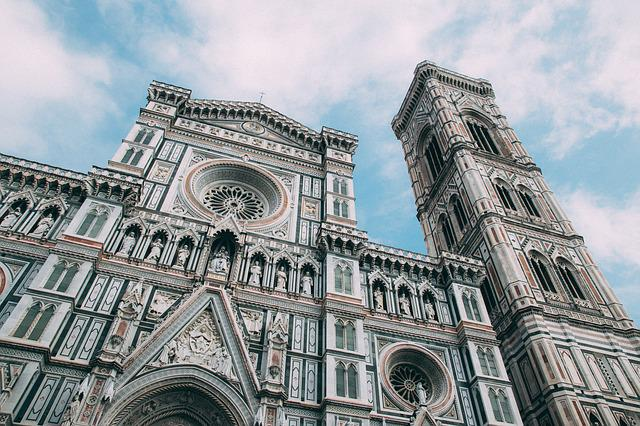 Cathedral, Florence, Europe, Church, Architecture