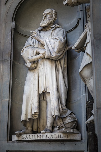 Galileo, Statue, Florence, Italy, Monument, Astronomer