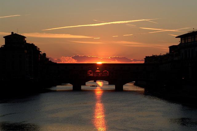 Ponte, Vecchio, Firenze, Florence, Toscana, Italy