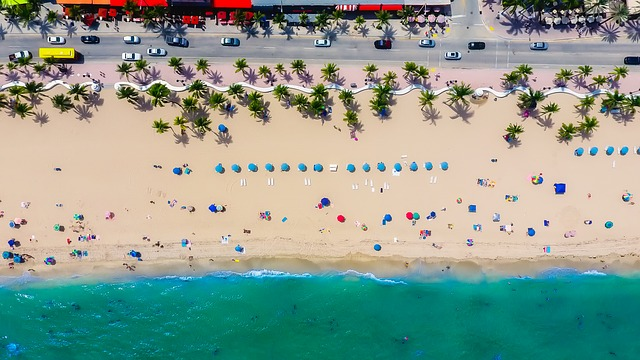 Fort Lauderdale, Florida, Sea, Ocean, Beach, Sand