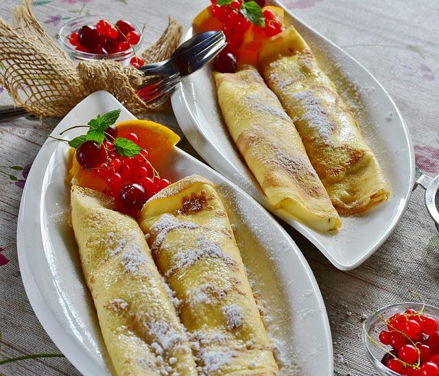 Pancakes, Crepe, Pancake, Egg, Milk, Flour, Quark, Cook