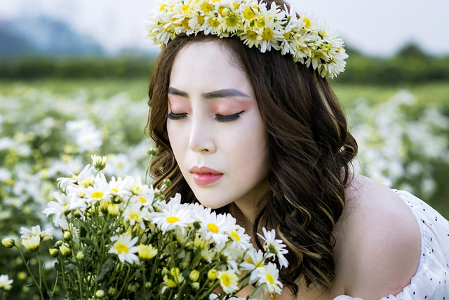 Vietnam, Lily, Asia, Flower, Outdoor, Girl