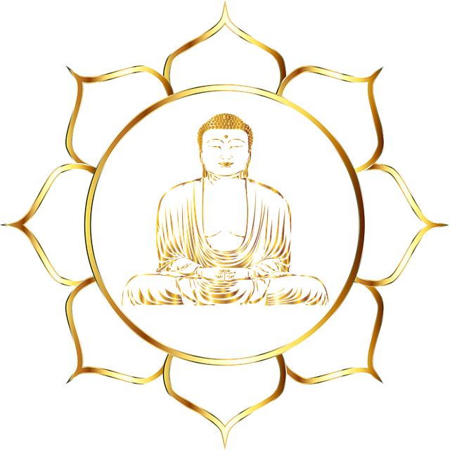 Buddha, Buddhism, Flower, Line Art, Lotus, Meditation