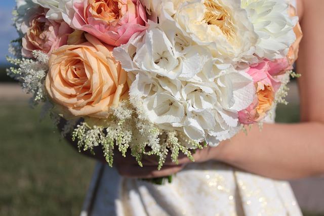 Wedding, Flower, David Austin Roses