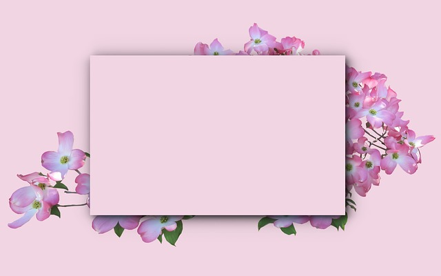 Picture Frame, Card, Flower, Decoration, Invitation