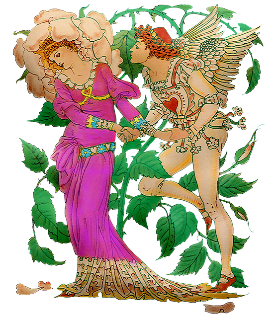 Vintage Fairies, Man And Woman, Flower Fairy, Enchanted