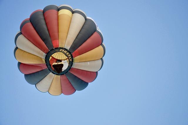 Flower, Sky, Balloon, Air, Fly, Hot Air Balloon, Fun