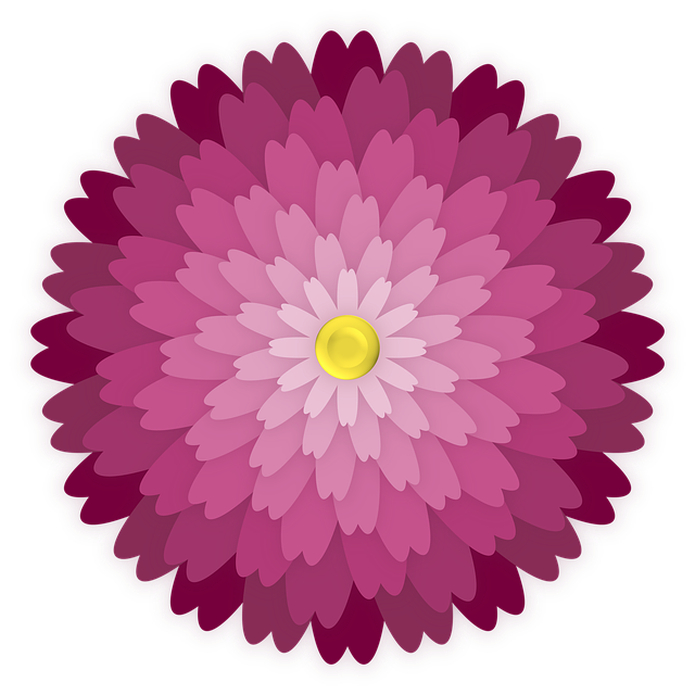Flower, Ornament, Petals, Graphic, Element, Bloom