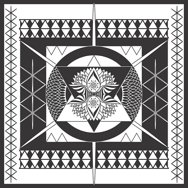 Mandala, Digital Artwork, Artwork, Flower, Pattern