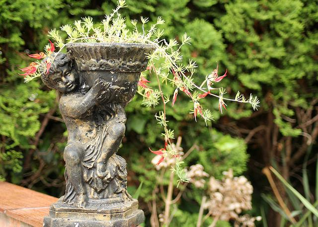 Garden, Flower Pot, Ornament, Decoration