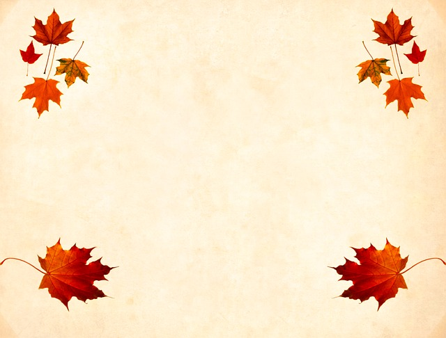Background, Scrapbooking, Fall, Blank, Flower, Old