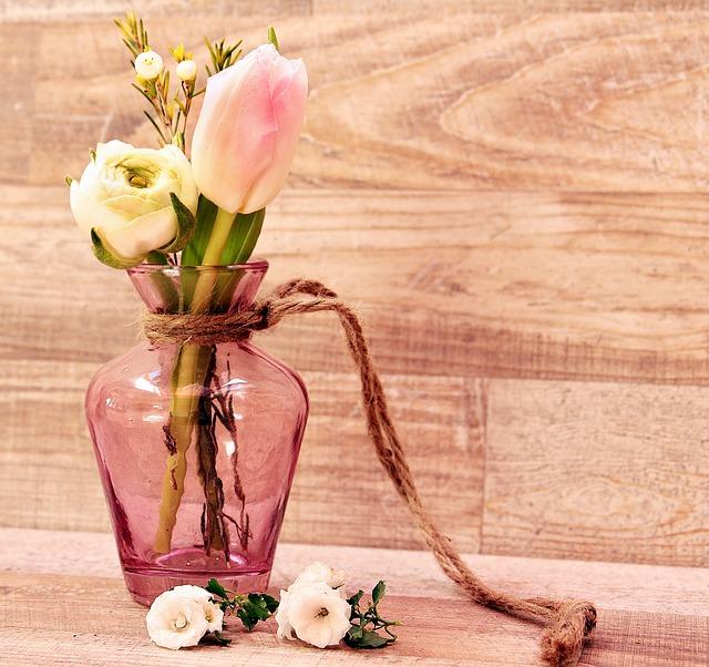 Tulips, Ranunculus, Vase, Flowers, Flower Vase