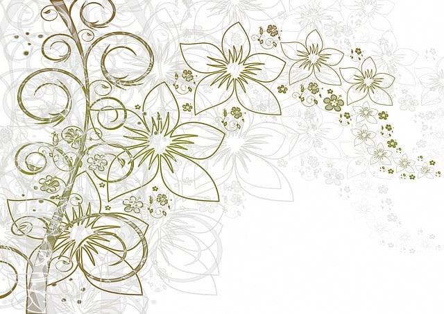 Flowers, Background, Leaf, Leaves, Flora, Greeting Card