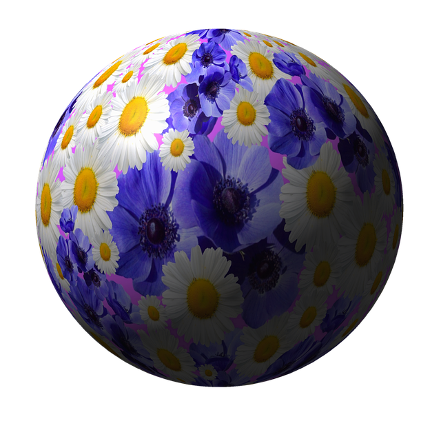 Flowers, Ball, Planet, Nature, Globose, Abstract