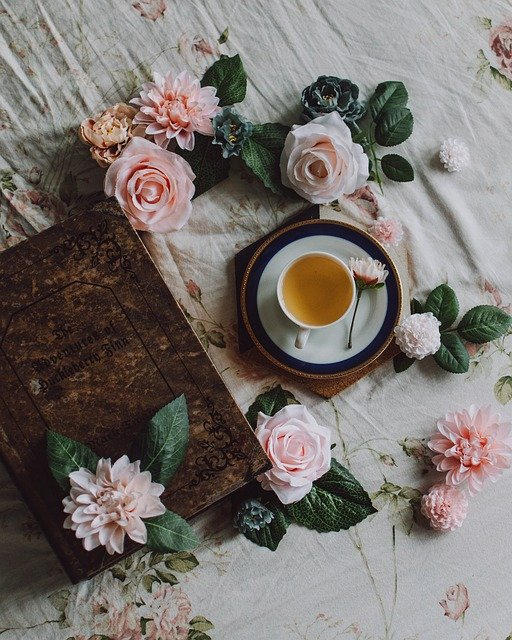 Teacup, Flowers, Pretty, Background, Cup, Tea, Pink