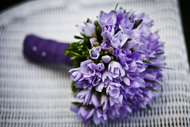 Bouquet, Flowers, Flower Arrangement, Purple Flowers