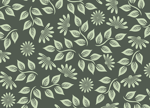 Flowers, Pattern, Spring, Nature, Green, The Background