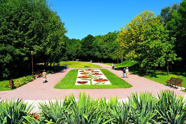 Park, Green, Craiova, Botanical, Flowers, People, Walk