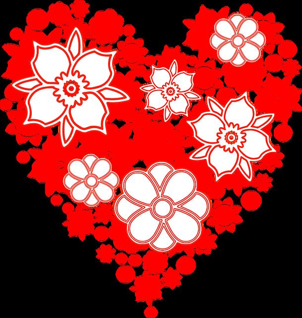 Flowers, Heart, Hearth