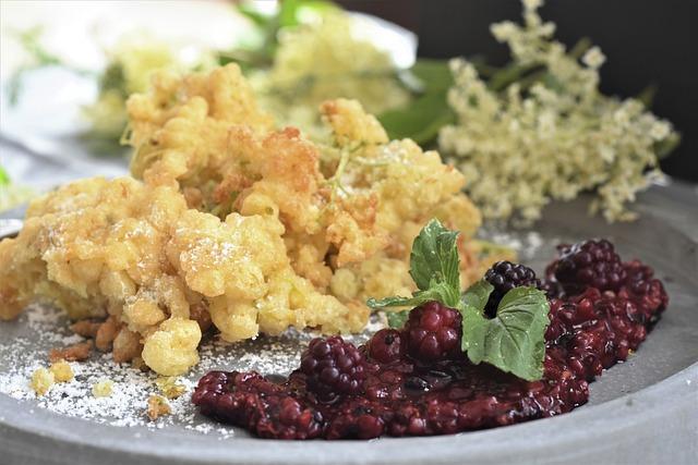 Elder, Elderberry Fritters, Flowers, Kitchen