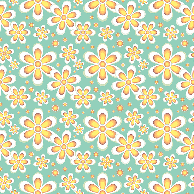 Floral, Pattern, Seamless, Flowers