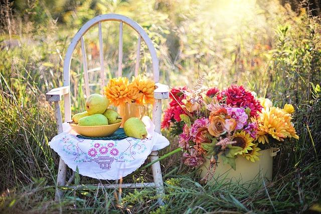 Still Life, Still-life, Still, Life, Pears, Flowers