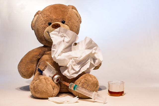 Cold, Flu, Ill, Syringe, Flu Vaccination, Vaccinate