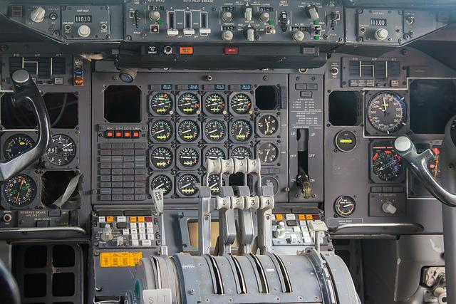 Cockpit, Fittings, Aircraft, Instruments, Fly, Aviation