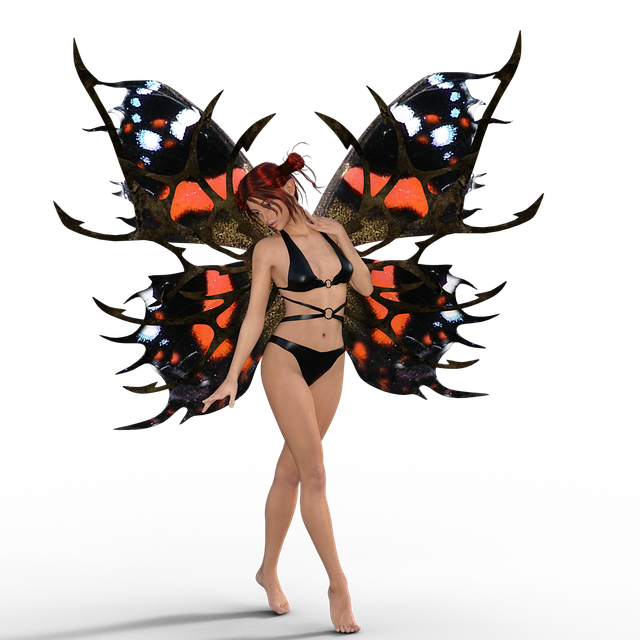 Wing, Butterfly, Woman, Elf, Insect, Fly, Fantasy