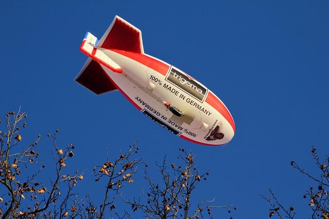 Airship, Trigema, Flying Object, Fly, Drive, Float