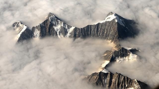 Fly, Mountains, Landscape, Aerial View