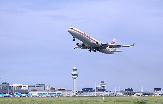 Flyer, Start, Take Off, Amsterdam Airport Schiphol