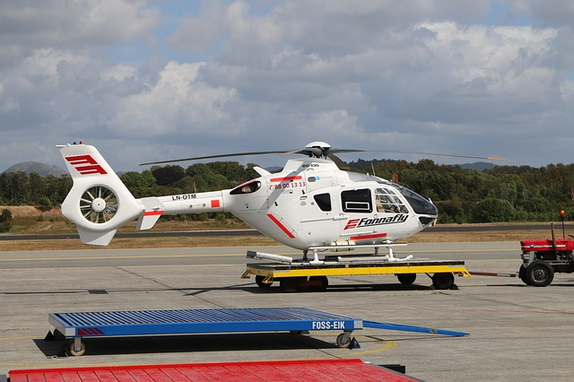 Helicopter, Aircraft, Transport System, Airport, Flying