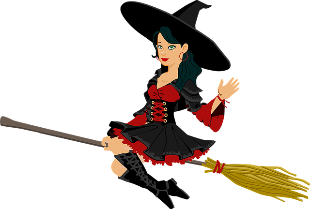 Broomstick, Female, Fictional, Flying, Girl, Halloween