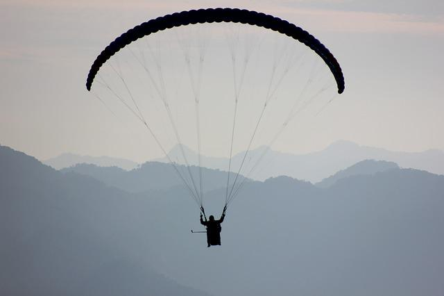 Paragliding, Morelia, Sky, Fly, Flying, Clouds, Air