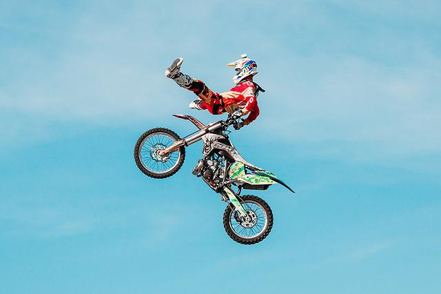 Fmx, Extreme, Motorcycle, Rider, Freestyle Motocross