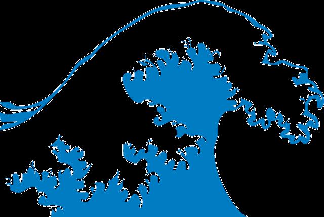 Wave, Big, Foam, Ocean, Power, Blue, Breaking, Tube