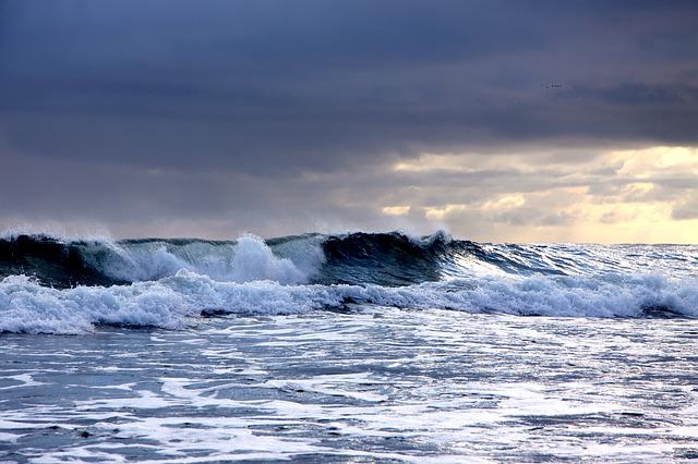 Waters, Surf, Sea, Ocean, Horizontal, Forward, Foam