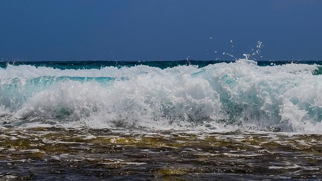 Wave, Smashing, Water, Spray, Foam, Smash, Nature