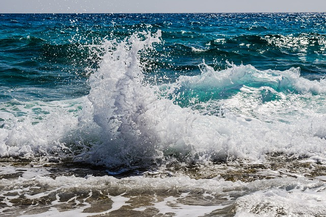 Wave, Smashing, Foam, Spray, Nature, Blue, Splash