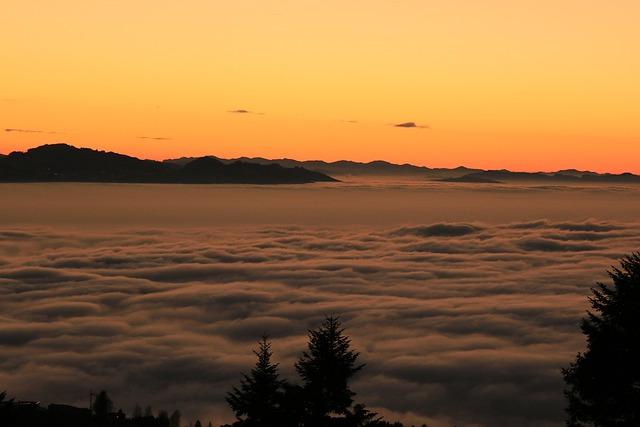 Vorarlberg, Eichenberg, Lutzenreuthe, Fog