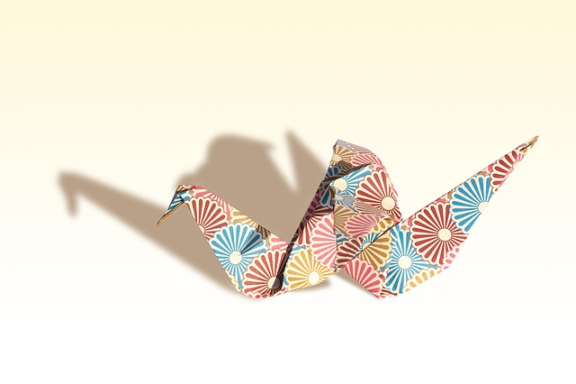 Origami, Crane, Traditionally, Fold, Geometric Body
