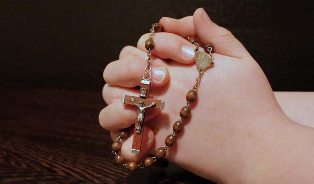 Rosary, Faith, Pray, Folded Hands, Prayer, Cross