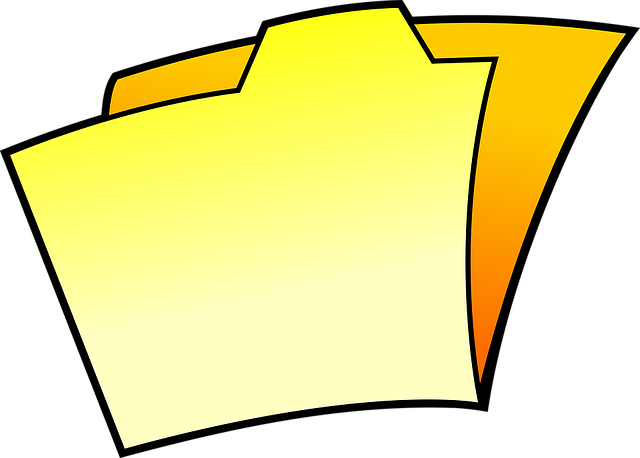 Cartoon, Dossier, File, Folder, Icon