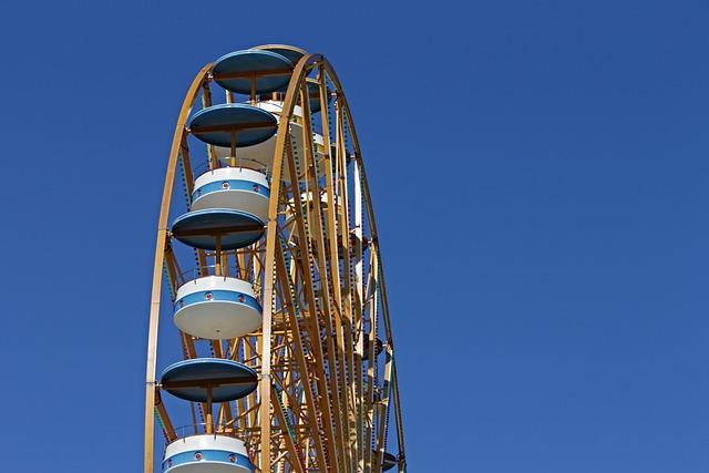 Ferris Wheel, Pleasure, Year Market, Folk Festival