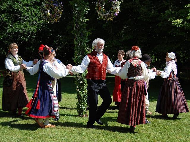 Folk-dance, Folk Dance, Square Dance, Dance, Dancing